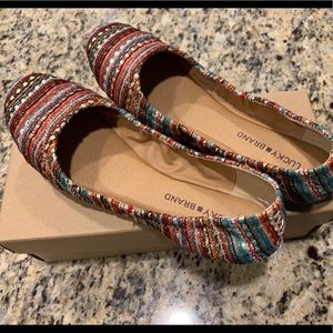 Lucky Brand MultiColored Emmie Ballet Flat  10M